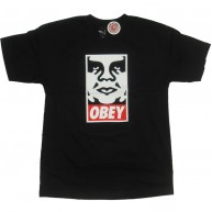 Obey 'Icon' T-Shirt -Black-
