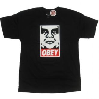 Obey 'Icon' T-Shirt -Black-