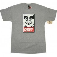 Obey 'Icon' T-Shirt -Grey-