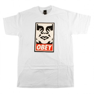 Obey 'Icon' T-Shirt -White-