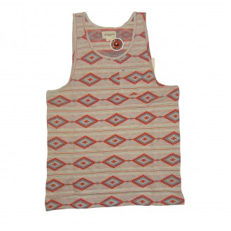Obey 'Indian Summer' Vest Tank T -Oatmeal-