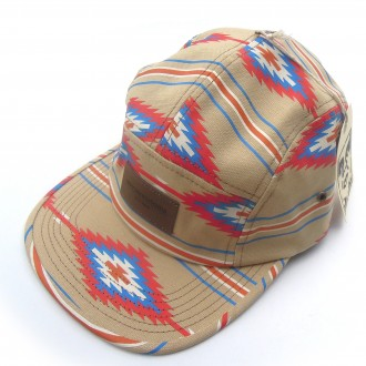 Obey 'Native' 5 Panel Cap -Khaki-