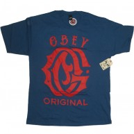 Obey 'Obey Original' T-Shirt -P Blue-