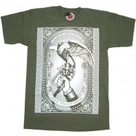 Obey 'Oil Freedom' Tee -Olive-