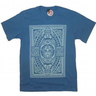 Obey 'Old World Order' T-Shirt -Blue-
