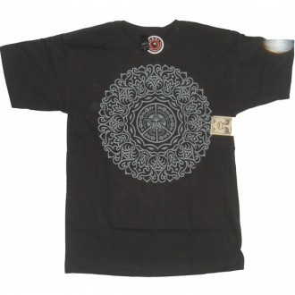 Obey 'Ornate' T-Shirt -H Graphite-