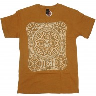 Obey 'Peace Poster' T-Shirt -Mustard-