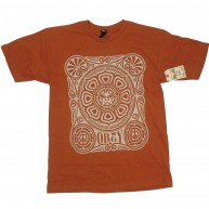 Obey 'Peace Poster' T-Shirt -Rust-