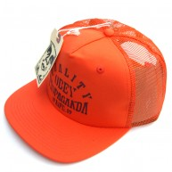 Obey 'Quality Propa' Mesh Snapback Cap -Orange-