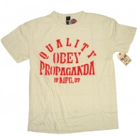 Obey 'Quality Propa' Antique Tee -Scour-