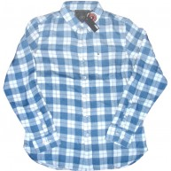 Obey 'Sierra' L/S Shirt -Dusty Indigo-