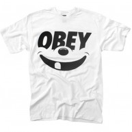 Obey 'Smile' T-Shirt -White-