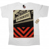 Obey 'Subway Sign' T-Shirt -White-