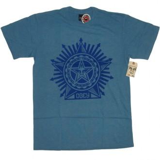 Obey 'Superstar' T-Shirt -H Blue-