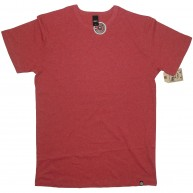 Obey 'Twist Blank' T-Shirt -Red-