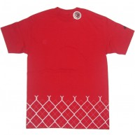 Recon'Argyl Fence' Tee -Red-