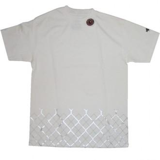 Recon'Argyl Fence' Tee -White-