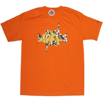 Recon'Barb Fat Cap' Tee -Orange-