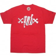 Recon 'Bone Barb' Tee -Red-