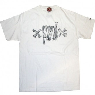 Recon 'Bone Barb' Tee -White-