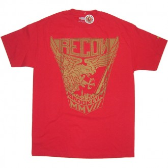Recon 'Crest' Tee  -Red-