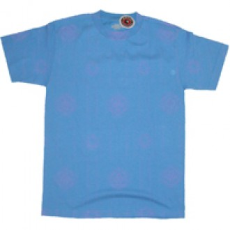 Recon'Allover Currency' Tee -Blue-