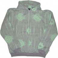 Recon 'Allover Currency' Hoodie -Grey-