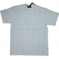 Recon'Encoded Pocket' Tee  -Baby Blue-