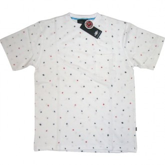 Recon'Encoded Pocket' Tee  -White