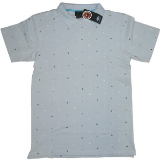 Recon'Encoded' Polo  -Baby Blue-