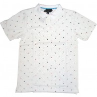 Recon'Encoded' Polo  -White-