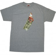 Recon 'Money 2 Burn' Tee -Grey-