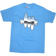 Recon 'Chrome' Tee -Blue-