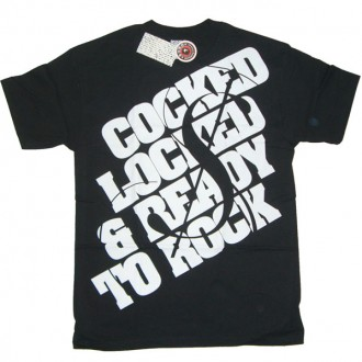 Rogue Status 'Ready To Rock' Tee  -Black-