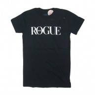 Rogue Status 'Vogue' Girls Tee  -Black-