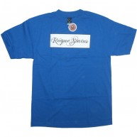 Rogue Status 'Classic Box Logo' T Shirt  -Royal-