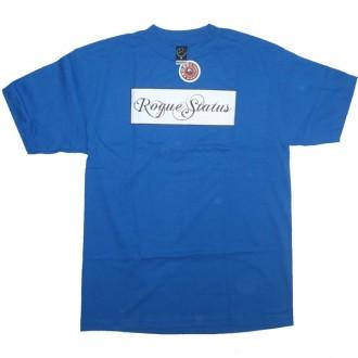 Rogue Status 'Classic Box Logo' T Shirt  -Royal-