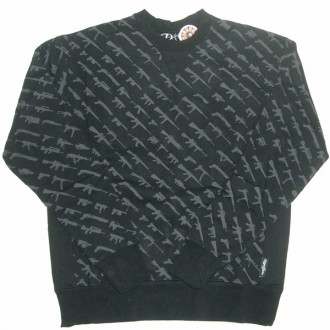 Rogue Status 'Gun Show' Sweatshirt  -Black-