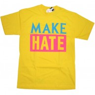 Rogue Status 'Make Hate Time' Tee -Yellow-