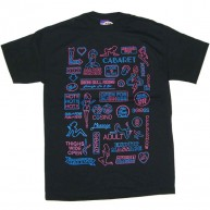 Second Son 'Sex Signs' Tee  -Black-