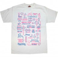 Second Son 'Sex Signs' Tee  -White-