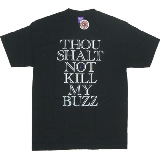 Second Son 'Thou shalt Not' Tee  -Black-