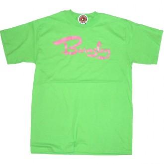 Special Needs'Barnsley Tag' Tee  -Lime-