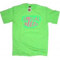 Special Needs'Punk' Tee  -Lime-