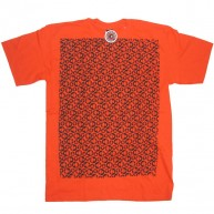 Special Needs 'Smiley Mono' Tee  -Orange-