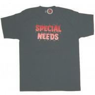 Special Needs'Voodoo Pins' Tee  -Charcoal-