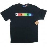 Staple 'Spectrum' Tee   -Black-