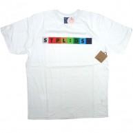 Staple 'Spectrum' Tee   -White-