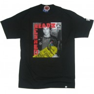 Staple 'Trashed/Theads' Tee  Paul Mittleman  -Black-