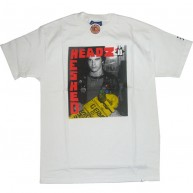 Staple 'Trashed/Theads' Tee  Paul Mittleman  -White-